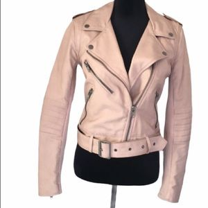 Biker Jacket in Faux Leather